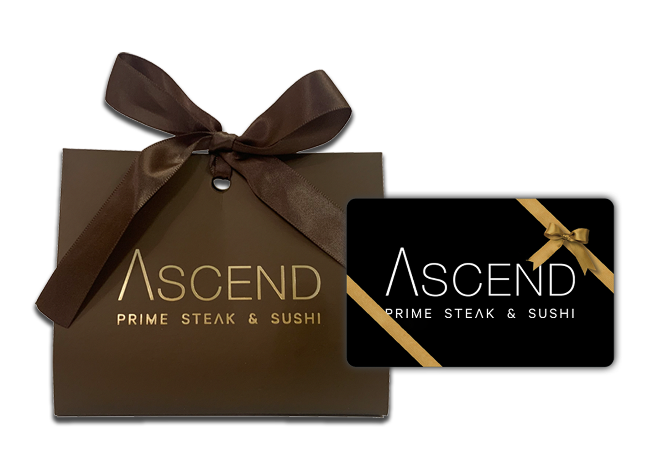 Ascend Prime Gift Card and Holder